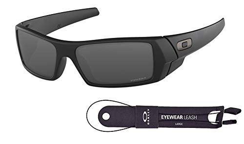 Oakley Gascan OO9014 901443 Matte Black/Prizm Black Sunglasses+Oakley Leash