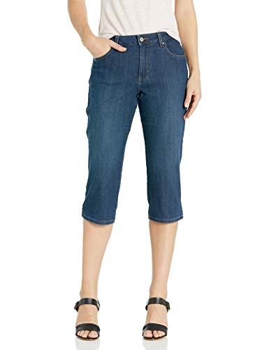 LEE Women's Relaxed Fit Capri Pant, Mysterious, 10