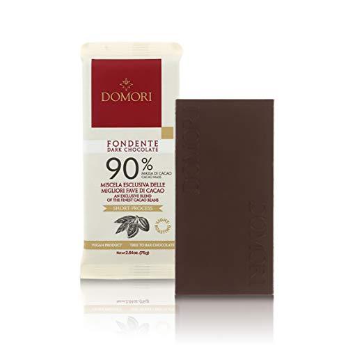 Tableta Chocolate Negro 90% Cacao Trinitario - 75 Gramos