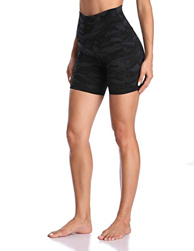Colorfulkoala Women's High Waisted Yoga Shorts with Pockets 6