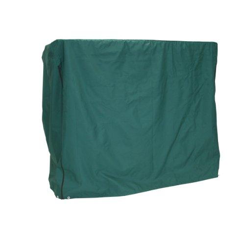 Greemotion beschermhoes voor schommelbank, groen, waterafstotend beschermhoes voor tuinbanken, weerbestendig zeil van duurzaam polyester