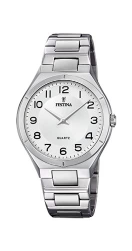 Reloj FESTINA F20244/4 Blanco - Correa DE Acero - Hombre - Caja 39 MM