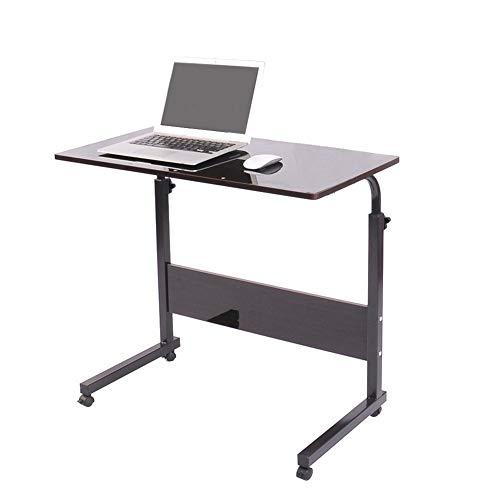 N / B El Escritorio portátil, el área de Trabajo móvil, Ajustable, espaciosa, Robusta y Duradera, Puede Proporcionar Suficiente Espacio para la computadora portátil