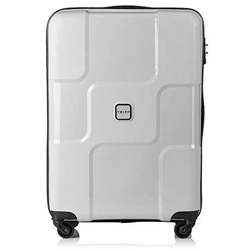 Tripp Dove Grey World Medium 4 Wheel Suitcase