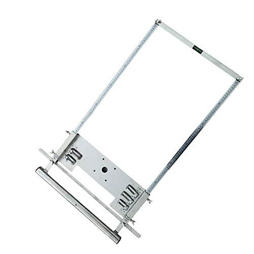 IUwnHceE Circular Sierra eléctrica del Condensador de Ajuste de la máquina de la carpintería Saw Carril guía Profesional Construcción de la carpintería Router 4-7inch