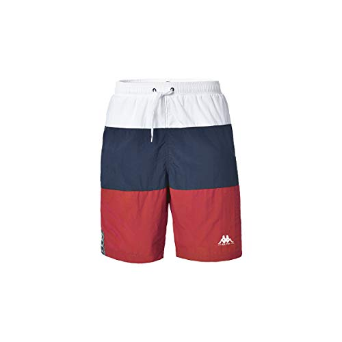 Kappa IBANO zwembroek, heren, wit-blauw-rood, 10 jaar