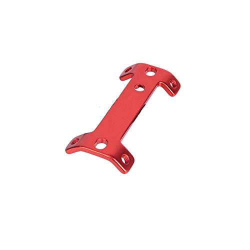 YQCSLS Botella MTB Doble Cabezal del Marco de la Jaula Extensor de aleación de Aluminio de la montaña Camino de la Bicicleta Taza de Agua de la Caldera Titular de expansión (Color : Red)
