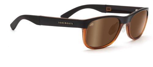 Serengeti Piero - Gafas de sol, color lente polarized Drivers Gold, categoría de lente 3, marrón