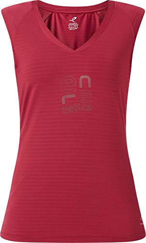 ENERGETICS Damen Galia 2 Tank-Shirt, Red Wine, 38