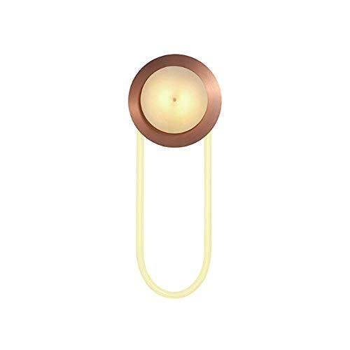 Dicai Luz mármol de Acero Inoxidable Hierro Forjado Decorativo luz Moderna Sala de Estar Minimalista contexto de la Pared de la lámpara Balcón Corredor Ligero de la Pared Decorativo