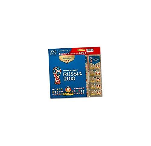 Panini WM Russia 2018 – Sticker – Starterset mit Album und 10 Tüten - deutsche Ausgabe