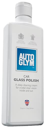 Autoglym - Abrillantador de Lunas de Automóvil, Uso en Interiores y Exteriores Elimina el polvo del Tráfico, Grasa, Cera, Insectos, 325 ml