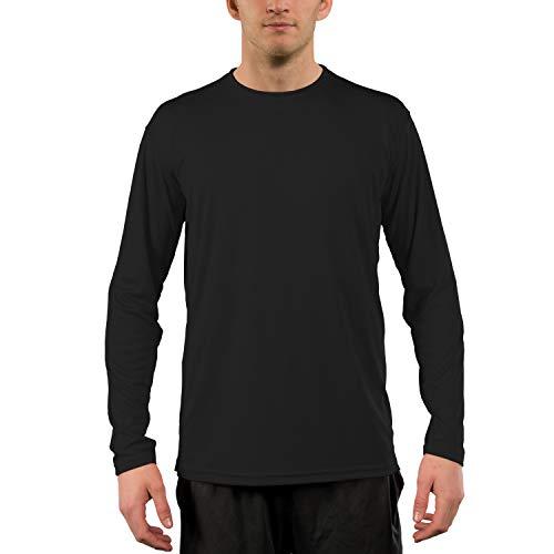 Vapor Apparel Men's UPF 50+ UV Sun Protection Outdoor Performance Long Sleeve T-Shirt XX-Large Carbon