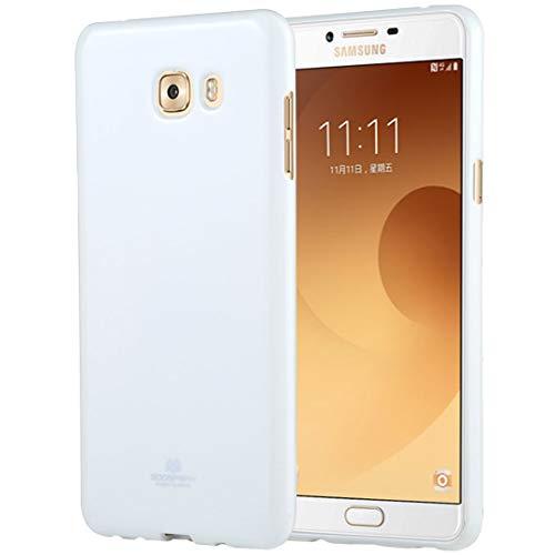 Zhangli Cajas del teléfono GOOSPERY Pear Jelly para Samsung Galaxy C9Carcasa Trasera a Prueba de Golpes Pro Soft TPU Cajas del teléfono (Color : Blanco)