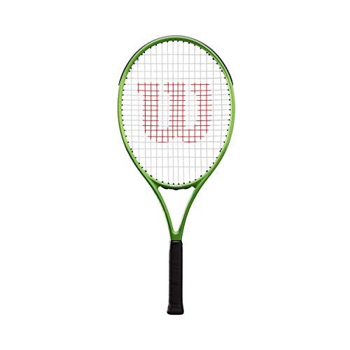 Wilson Blade Feel 25 Encordado: Sí 258G Raquetas De Tenis Raqueta De Niños Verde - Gris 0