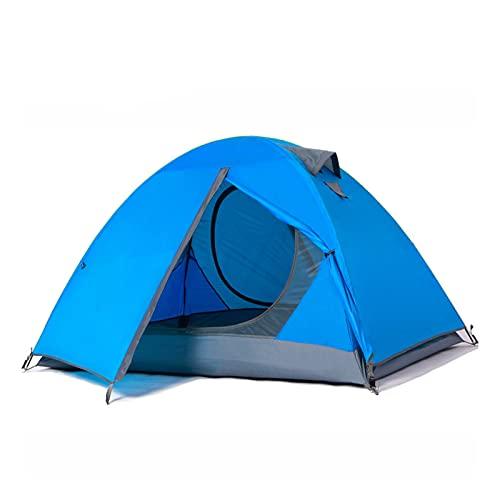 Carpas para Acampar al Aire Libre, Carpas portátiles de Doble Capa a Prueba de Viento y Transpirables, Carpas de Escalada para campamentos de Verano