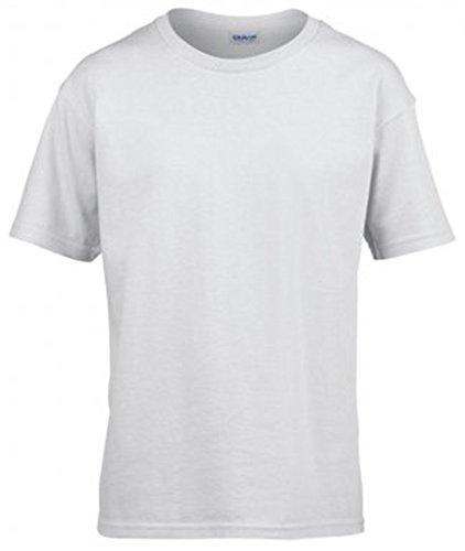 Gildan Kids SoftStyle? Ringspun T-Shirt White 9=L