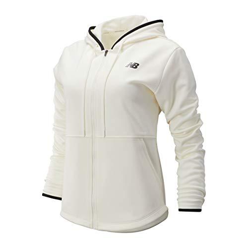New Balance Damen Relentless Fleece Full Zip, Damen, Jacke, Relentless Fleece Full Zip, Seasalt, X-Large