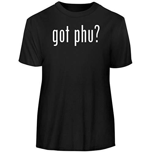 One Legging it Around got PHU? - Men's Funny Soft Adult Tee T-Shirt, Black, Small