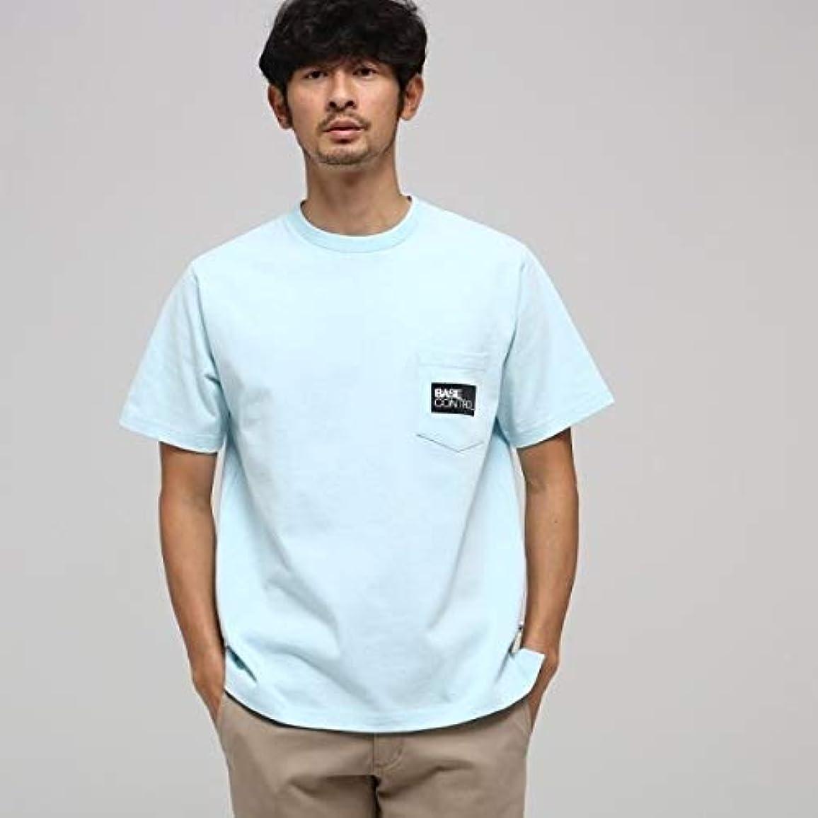 表示担当者リンスベース ステーション(メンズ)(BASE STATION Mens) MTシャツ(【WEB限定】胸BOXロゴ刺繍 半袖Tシャツ)
