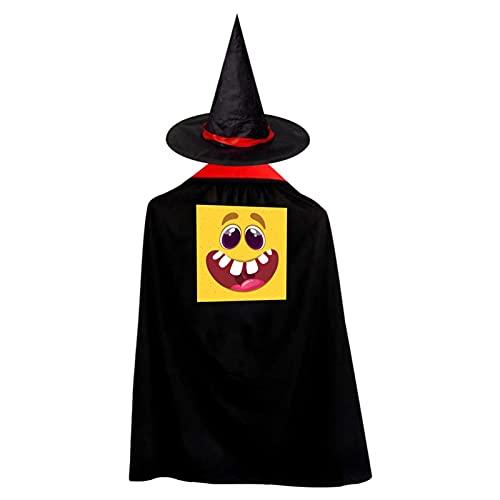 Donuts de maz de caramelo, donas de Halloween, bruja de bruja, disfraz de bruja con capa de mago para nios, disfraz de bruja para fiesta de cosplay