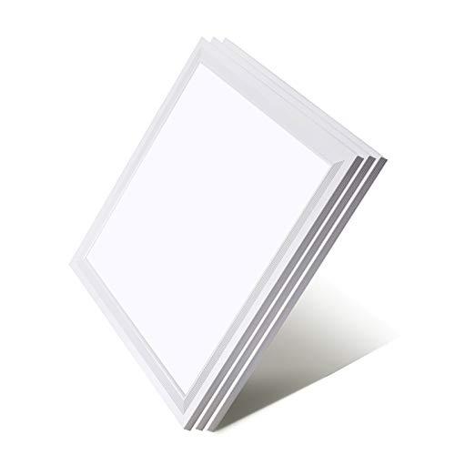 [3er Pack zum Sparpreis] OUBO LED Panel Deckenleuchte 30x30cm Wandleuchte Neutralweiß 4000K, 18W, 1700 lumen, LED Lampe Ultraslim Einbauleuchte mit weißrahmen