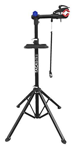 Tacabike tabs01, Caballete para Bicicleta Unisex–Adulto, Negro, 105x 24x 16cm