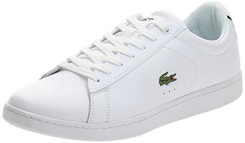 Lacoste Carnaby EVO BL 1 SPM, Zapatillas Hombre, Blanco (White), 42 EU