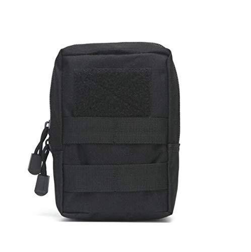 Mdurian Bolsa táctica para EDC MOLLE Equipo Compatible Cintura compacta Bolsa pequeña de Utilidad Caza Al Aire Libre Paquete de 2