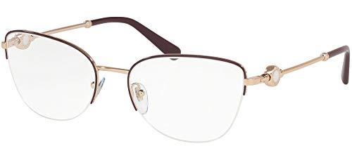 Bvlgari BV 2211 2035 - Gafas de sol, color morado y rosa dorado