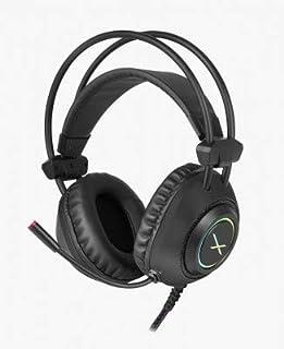 XZEAL Diadema Gamer XZ2015 LED RGB USB/3.5mm Micrófono Color Negro