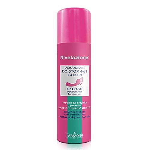 NIVELAZIONE 4 in 1 Foot Deodorant for Women, 150ml by Farmona