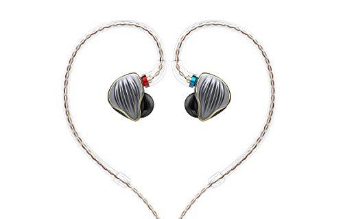 FiiO FH5 auricular Intraaural Dentro de oído Titanio - Auriculares (Intraaural, Dentro de oído, Alámbrico, 15 - 40000 Hz, 1,2 m, Titanio)