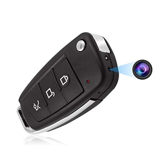 Überwachungskamera, KAMREA HD 1080P Tragbare Versteckte Kamera, Videorecorder mit Bewegungserkennung, Nachtsicht, Nanny Cam für Sicherheit im Innen und Außenbereichv