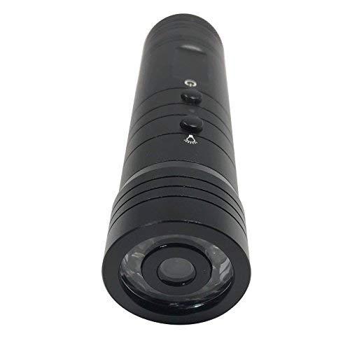 新型 サバゲー アウトドア用 LEDライト付き 20mmレイル対応 マウントリング付き 充電器付き USBケーブル付き レコーダー 録画 動画 静止画 カメラ 撮影