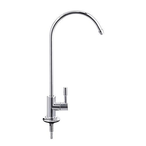 RIsxffp Tipo de cuello de cisne Cocina RO Filtro de agua potable Grifo Fregadero de ósmosis inversa Grifo para lavabo