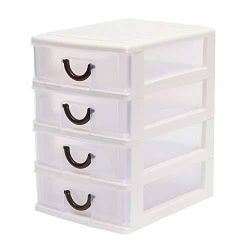 Hrph Tiroir Durable Plastique Débris de Bureau Organiseur Cosmétiques Tiroir Porte-Clés Boîte de Rangement