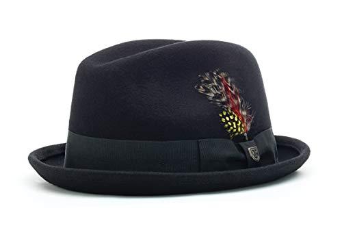 Brixton Hat GAIN black felt, L BRIMHATGAI