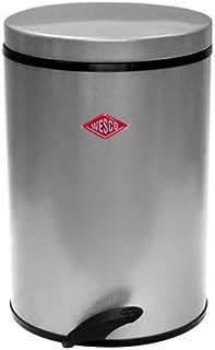 WESCO 381401-23 raccoglitori per rifiuti Verniciato a Polvere Acciaio Mandel 43,50 x 37,50 x 68,0 cm