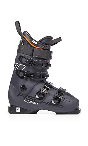 Fischer Unisex – volwassenen RC Pro 110 Thermoshape heren skischoenen (2019), Mondo Point maat: 29/29.5, antraciet