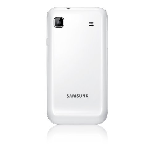 Samsung Galaxy S Plus I9001 Smartphone (10,16 cm (4 Zoll) Display, Touchscreen, 5 Megapixel Kamera, Android Betriebssystem) pure-white