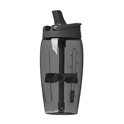 CINBOS Protein Shaker Mixer Bottle Gym Fitness and Diet Cup Men's Sports Water Cup700 ml (Black)