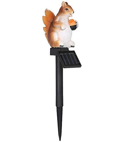 Solar Garten Licht, Lixada Solar Rasen Licht Eichhörnchen Form, soalr spotlight Außen Wasserdicht IP65