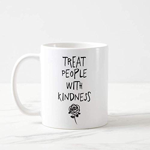 Eastlif Taza One Direction Harry Styles Trata a Las Personas con amabilidad One Direction 1D 1D Taza de café One Direction Regalos Harry All The Love