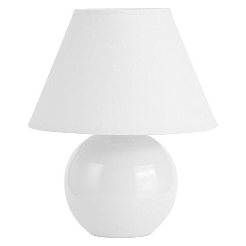 Brilliant AG 61047/05 Lampe à poser, Céramique, E14, 40 W, Blanc