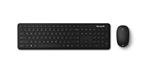Microsoft Bluetooth Desktop (Set mit Maus und Tastatur, deutsches QWERTZ Tastaturlayout, schwarz, kabellos)