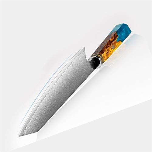 Cuchillo de chef Damasco Kitchen Chef Cuchillo Cuchilla de carne Kiritsuke Knife La mejor opción para chefs profesionales y cocinas para el hogar