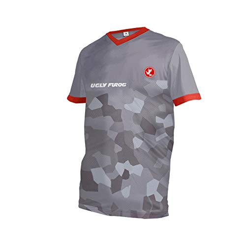 Uglyfrog XIN17 2019-2020 Sport Kurzarm Sommer Stil Cycling Jersey Herren Motocross/MTB/Mountain Bike Wear Downhill Rundhals Shirt