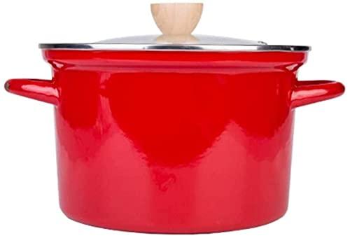 Olla para el hogar, Utensilios de Cocina Cock Pot CUBIERTAR LA PULO DE Salsa con LA Tapa DE Vidrio Cocina DE Cocina DE Cocina DE Cocina DE Cocina DE Cocina DE Cocina DE Cocina DE Cocina, Cubie