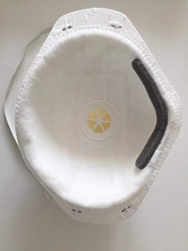 1x Atemschutzmaske FFP2 N95, Mundschutz mit Ventil, Maske wirksame Prophylaxe - 2